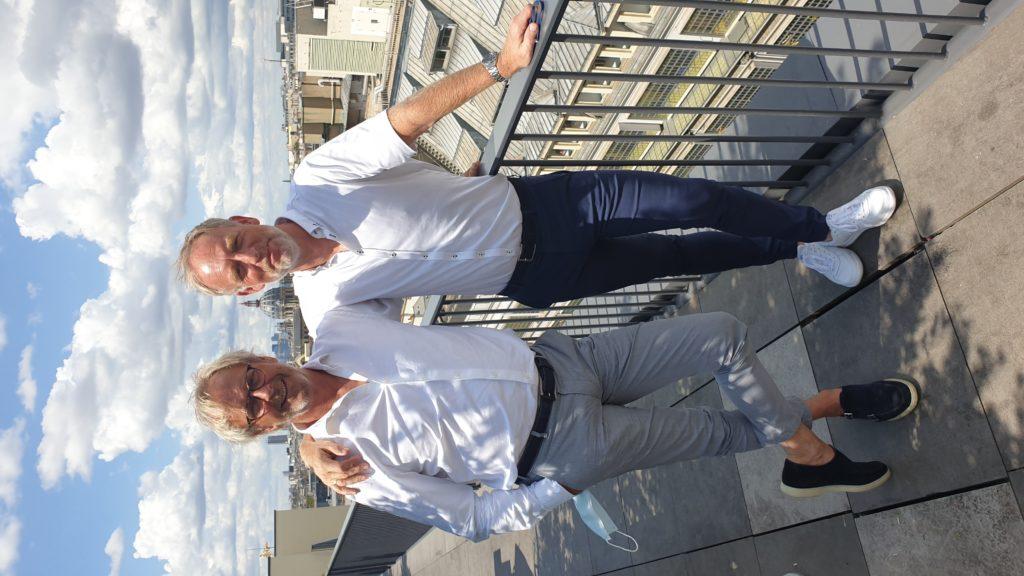 Michel van den Berg en Hennie Dolleman